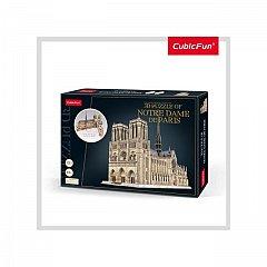 Puzzle 3D CubicFun - Notre Dame, 293 piese