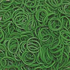 Elastice Rainbow Loom - Standard Verde inchis, 600 buc
