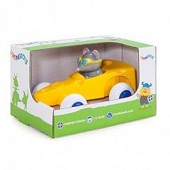 Pilot de curse Soricel in Masinuta Cascaval Viking Toys Cute Racer