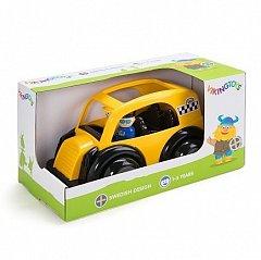 Masina Taxi Viking Toys Jumbo cu 2 figurine