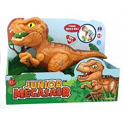 Jucarie interactiva Dinozaur Junior T-Rex, cu sunete si functie de mers