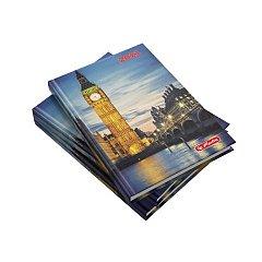 Agenda A5, datata 2021, Zentangle, 352 pagini, motiv Londra