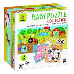 Puzzle Baby Puzzle - Ferma, 32 piese
