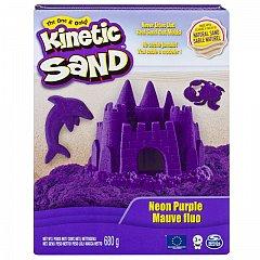 Kinetic Sand, Mov neon, 680g