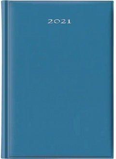 Agenda A5, datata 2021, ArtiBest, 336 pagini, bleu