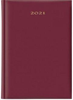 Agenda A5, datata 2021, ArtiBest, 336 pagini, bordeaux