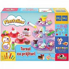 Set de joaca Plastelino - Turnul cu prajituri