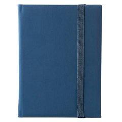 Agenda A5, nedatata, Velution, 344 pagini, albastru