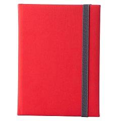 Agenda A5, nedatata, Velution, 344 pagini, rosu