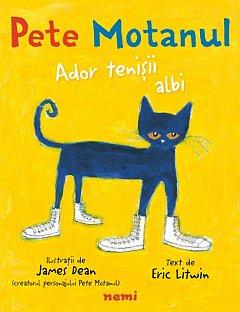 Pete Motanul. Ador tenisii albi