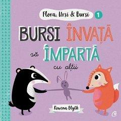 Bursi invata sa imparta cu altii. Flora,Ursi & Bursi 1