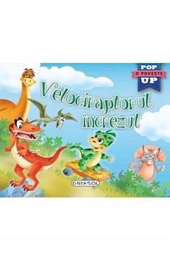 Velociraptorul increzut. Pop-up
