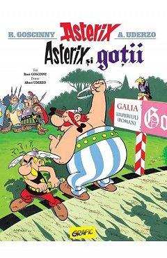 Asterix si gotii. Asterix, vol. 3