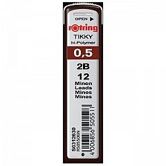 Mine pt.creion mecanic Rotring,0.5mm,2B
