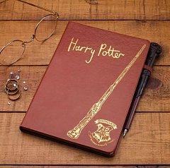 Caiet Harry Potter cu pix forma bagheta