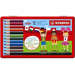 Creioane colorate,12b/cut.met,Stabilo