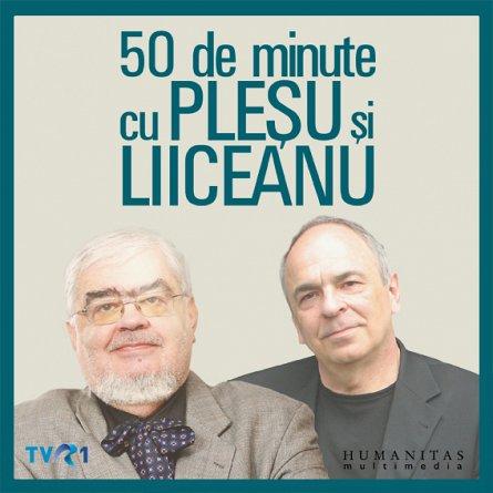 50 DE MINUTE CU PLESU SI LIICEANU    10 CD'S