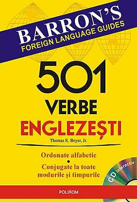 501 VERBE ENGLEZESTI CU CD