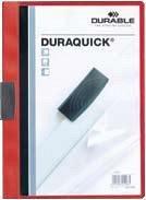 Dosar prezentare Duraquick,20coli,rosu