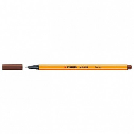Liner Stabilo Point 88,0.4mm,maro