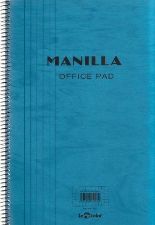 Caiet MANILLA, A4, matem, 90 file