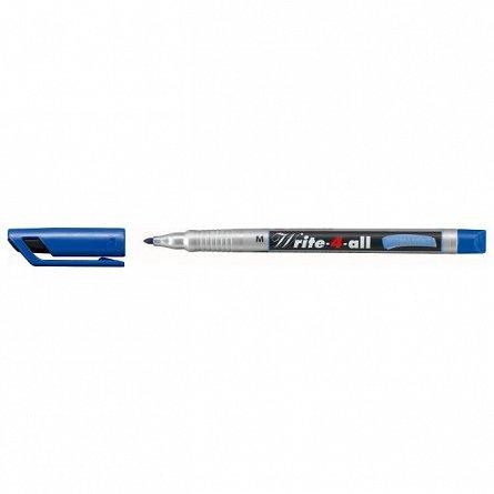 Marker perm.Stabilo Write-4-all,M,albastru