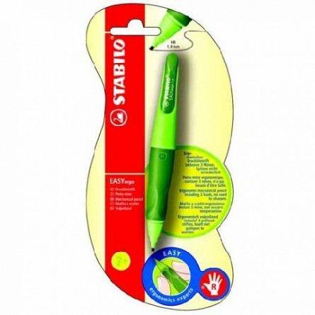 Creion mecanic Stabilo Easy,dreptaci,verde