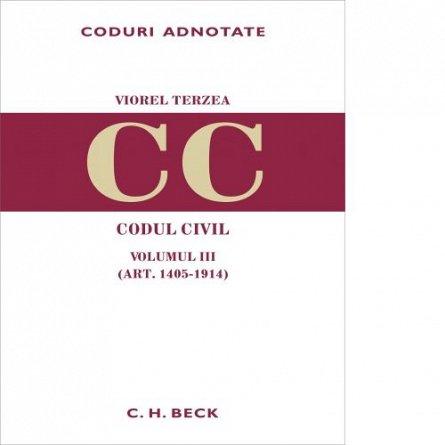 CODUL CIVIL. VOL III ( ART. 1405-1914)