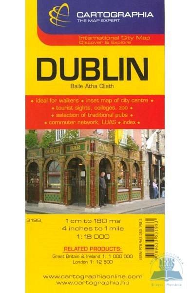 HARTA RUTIERA DUBLIN 1:18.000