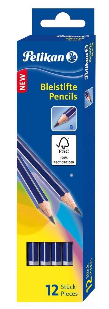 Creion grafit Pelikan, fata radiera B