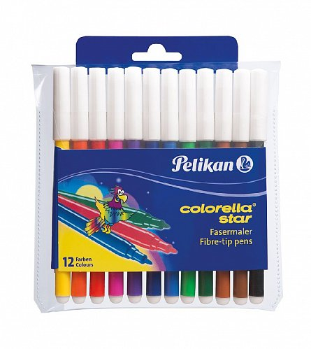 Markere copii 12buc/set,0,8mm,Pelikan