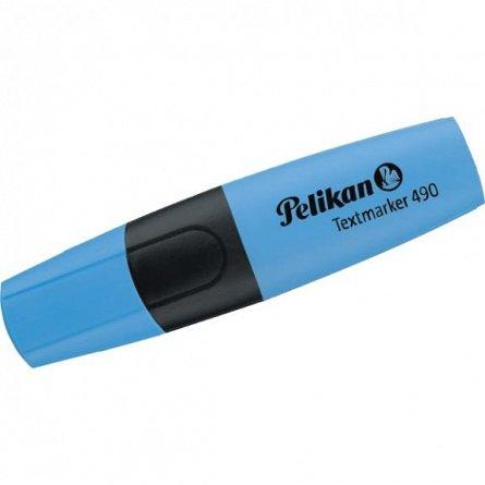 Textmarker Pelikan 490, albastru