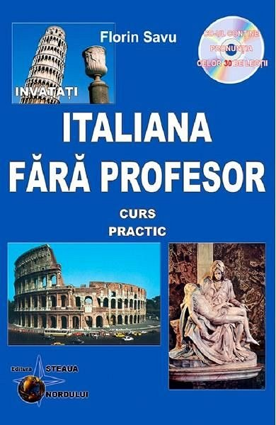 Italiana fara profesor + CD, Florin Savu