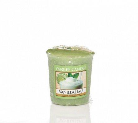 Lumanare sampler Vanilla Lime