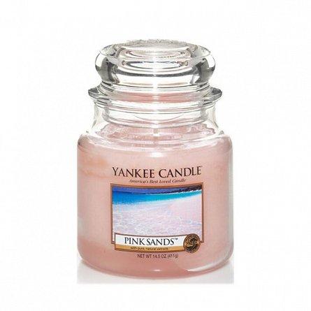 Lumanare borcan mediu Pink Sands