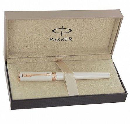 Parker Ingenuity Slim Daring Laque Pearl CT, Fine/Medium Black