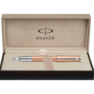 Parker Ingenuity Slim Daring Pink Gold CT, Fine/Medium Black