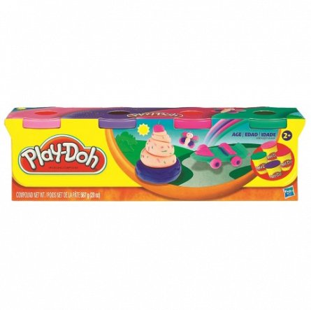 Play-Doh pachet 4 cutii div.culori