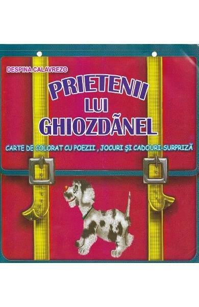 Prietenii lui Ghiozdanel -carte de colorat - Despina Calavrezzo