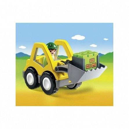Playmobil-1.2.3 Excavator