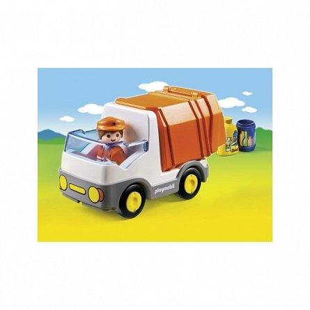 Playmobil-1.2.3 Camion deseuri