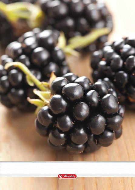 Caiet spira A4,70file,Fructe,dictando