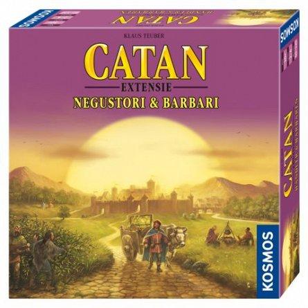 Colonistii din Catan - extensie Negustori si Barbari 3-4 juc.