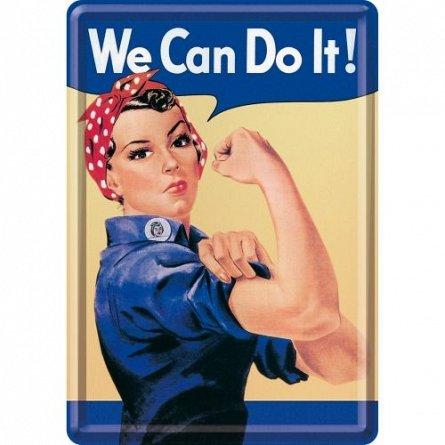 CARTE POSTALA WE CAN DO IT