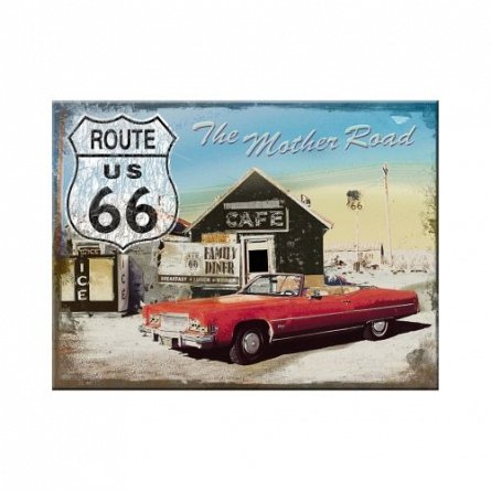 MAGNET ROUTE 66 THE MOTHER ROAD