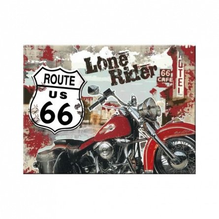 MAGNET ROUTE 66 LONE RIDER