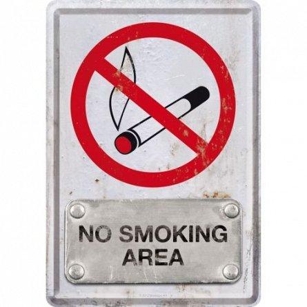 CARTE POSTALA NO SMOKING AREA