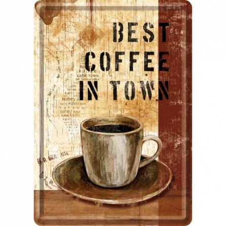 Carte postala Best Coffee in Town