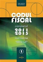 CODUL FISCAL 2012/2013 -TEXT COMPARAT-