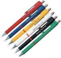 Creion mecanic Rotring Tikky,0.5mm,verde/maro